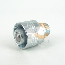 Szybkozłącze skr. ZSR - wtyczka z gwintem M22x1,5