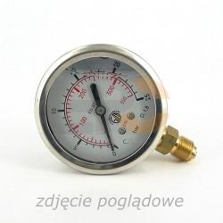 Manovacuometr glicer. rad. Fi-63 G1/4 -1÷9 bar