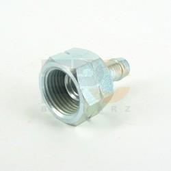 Końcówka do butli na wąż fi10 mm - gwint 21,8 lewy