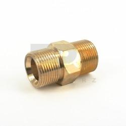 Złączka prosta mosiężna do myjki M22x1,5 - M22x1,5