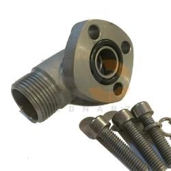 Przyłącze pompy zębatej 90° LK30 CEL 12L 3 śruby
