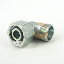 Łącznik kol.nastawny 90° M18x1,5 10-S
