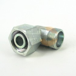 Łącznik kol.nastawny 90° EW M20x1,5 12-S