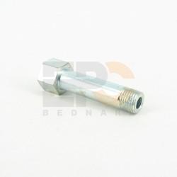 Adapter prosty zew-wew M10x1,0 M10x1,0 50mm