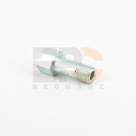 Adapter prosty zew-wew M8x1,0 M8x1,0 32mm