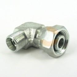 Łącznik kol.nastawny 90° DKOL08L / CEL06L