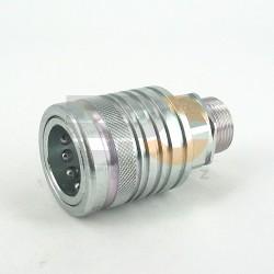 Szybkozłącze push/pull gniazdo Gr.3 GZ M20x1,5 12S